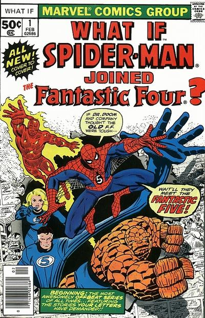 Cover for What If? (Marvel, 1977 series) #1