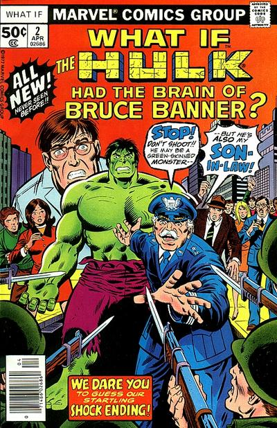 Cover for What If? (Marvel, 1977 series) #2
