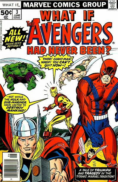 Cover for What If? (Marvel, 1977 series) #3