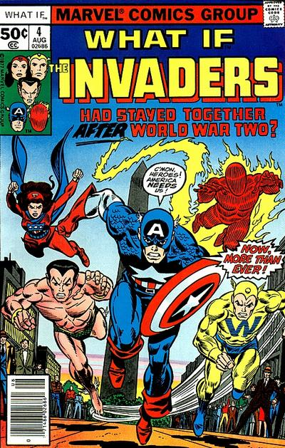 Cover for What If? (Marvel, 1977 series) #4