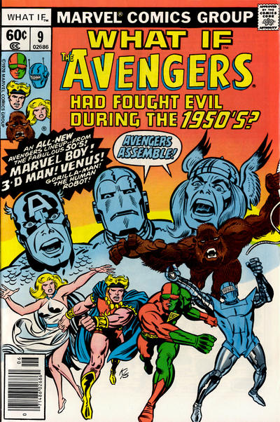 Cover for What If? (Marvel, 1977 series) #9