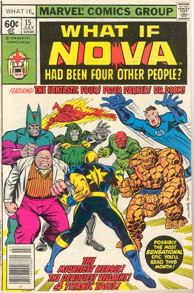 Cover for What If? (Marvel, 1977 series) #15 [Direct Edition]