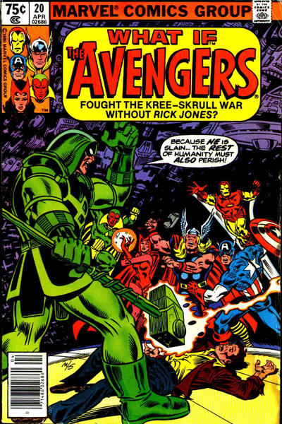 Cover for What If? (Marvel, 1977 series) #20 [Newsstand]