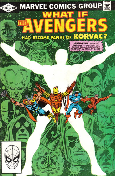 Cover for What If? (Marvel, 1977 series) #32 [Newsstand Edition]