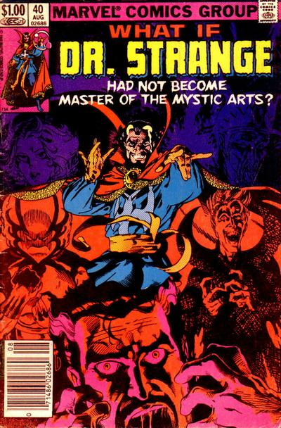 Cover for What If? (Marvel, 1977 series) #40 [Direct]