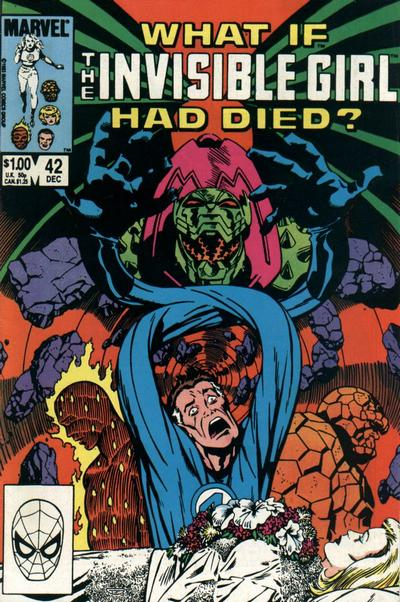 Cover for What If? (Marvel, 1977 series) #42 [Direct]