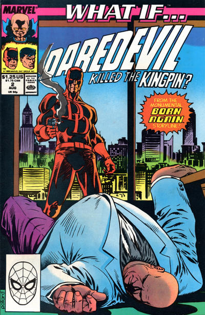 Cover for What If...? (Marvel, 1989 series) #2