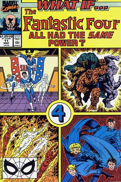 Cover for What If...? (Marvel, 1989 series) #11