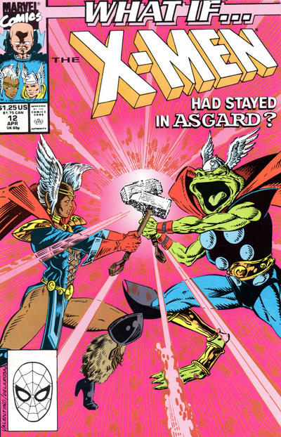 Cover for What If...? (Marvel, 1989 series) #12