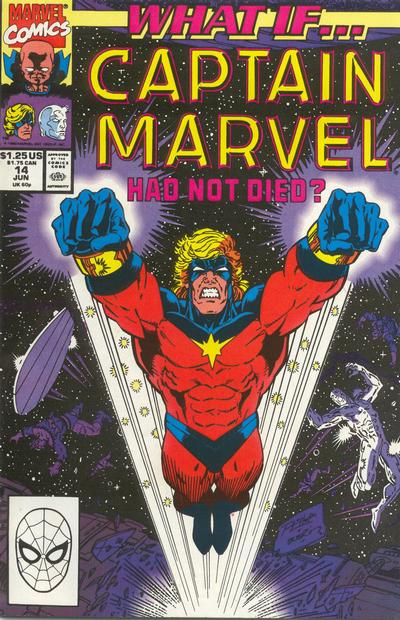 Cover for What If...? (Marvel, 1989 series) #14