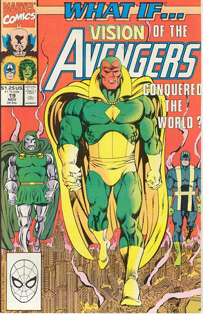 Cover for What If...? (Marvel, 1989 series) #19