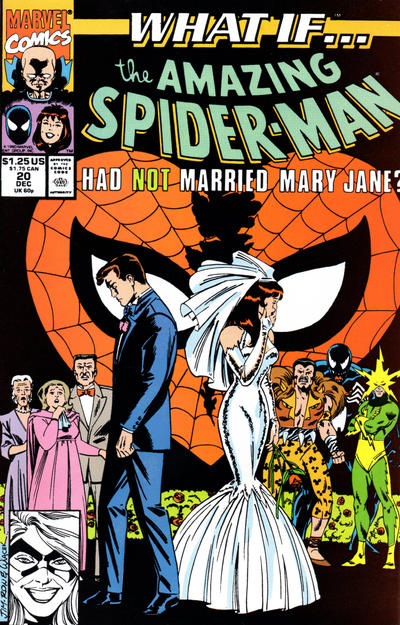 Cover for What If...? (Marvel, 1989 series) #20 [Direct]