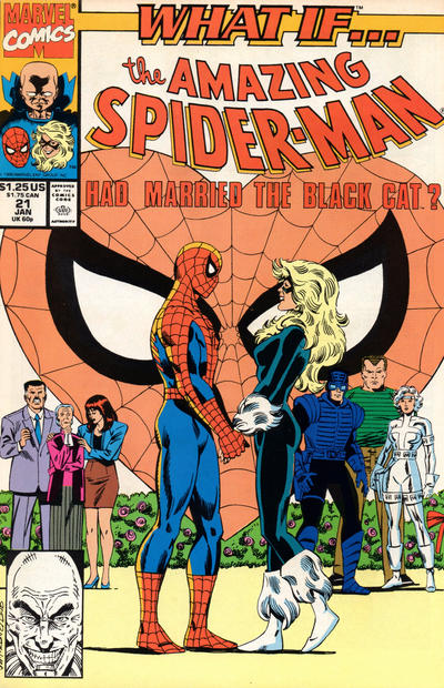 Cover for What If...? (Marvel, 1989 series) #21