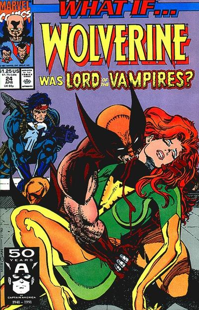 Cover for What If...? (Marvel, 1989 series) #24