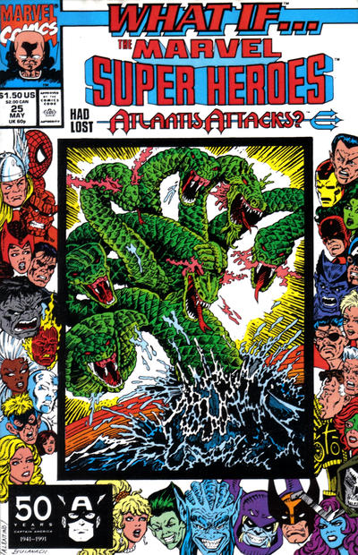 Cover for What If...? (Marvel, 1989 series) #25 [Direct]