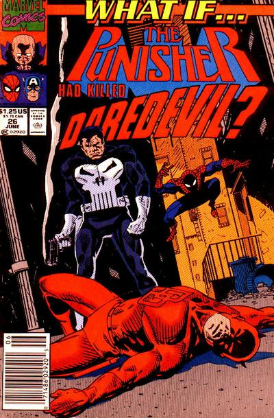 Cover for What If...? (Marvel, 1989 series) #26 [Direct]