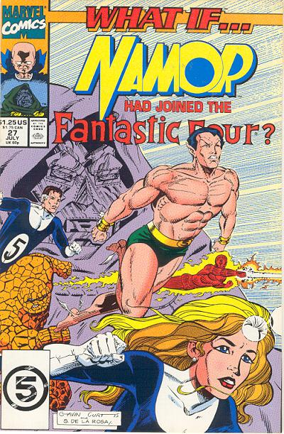 Cover for What If...? (Marvel, 1989 series) #27 [Direct]