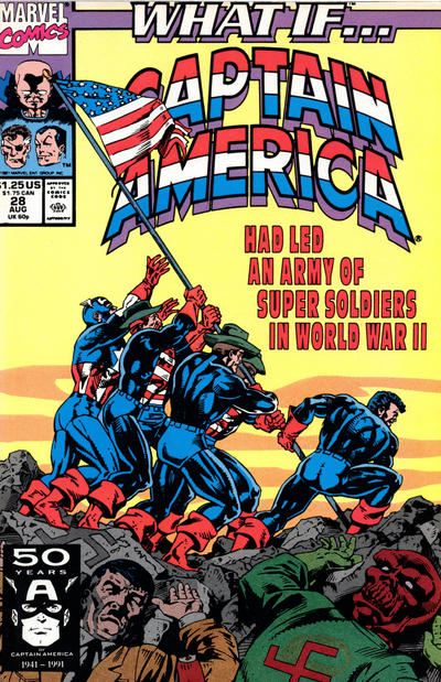 Cover for What If...? (Marvel, 1989 series) #28 [Direct]