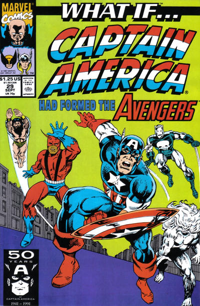 Cover for What If...? (Marvel, 1989 series) #29 [Direct]
