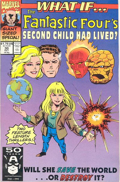 Cover for What If...? (Marvel, 1989 series) #30