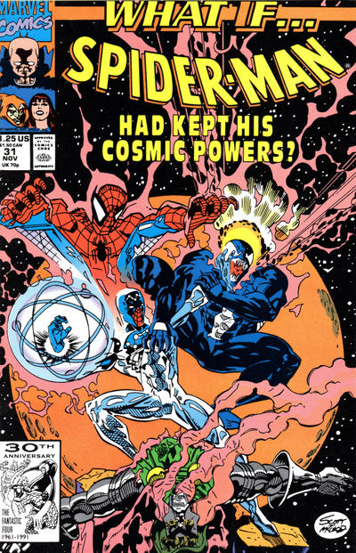 Cover for What If...? (Marvel, 1989 series) #31