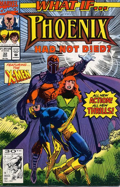 Cover for What If...? (Marvel, 1989 series) #32 [Newsstand]
