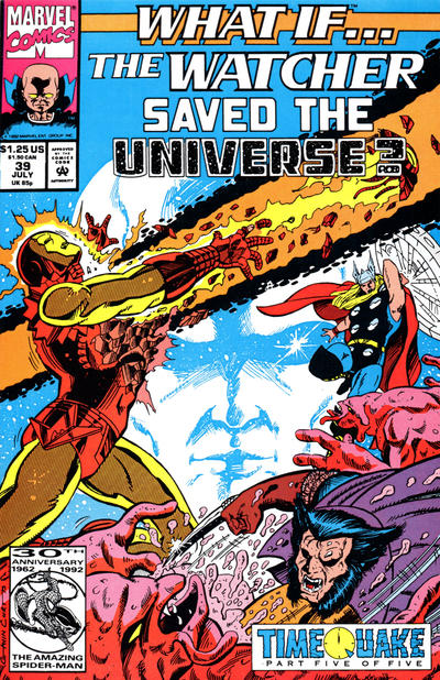 Cover for What If...? (Marvel, 1989 series) #39 [Newsstand]