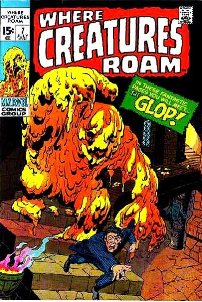 Cover for Where Creatures Roam (Marvel, 1970 series) #7
