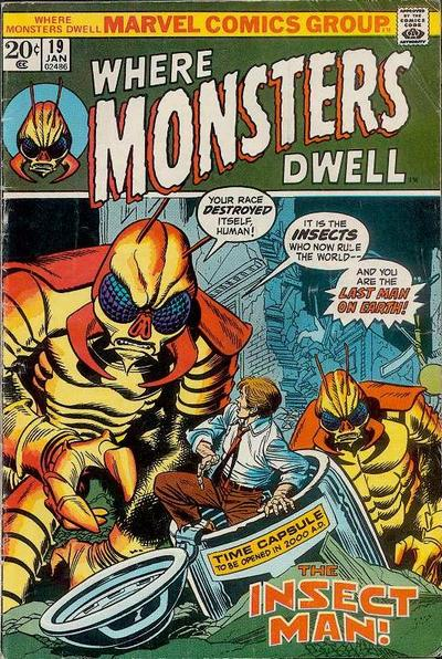 Cover for Where Monsters Dwell (Marvel, 1970 series) #19