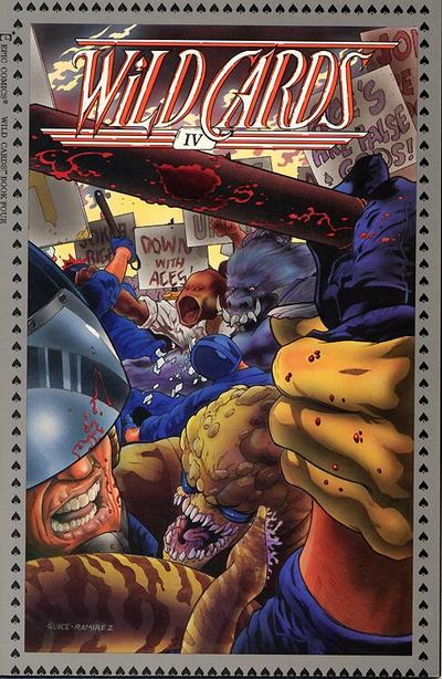 Cover for Wild Cards (Marvel, 1990 series) #4
