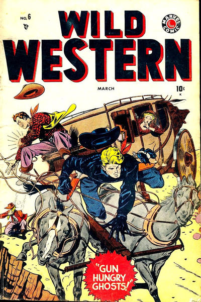 Cover for Wild Western (Marvel, 1948 series) #6