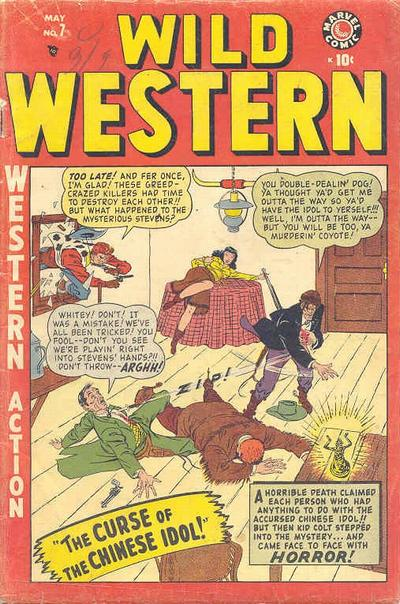 Cover for Wild Western (Marvel, 1948 series) #7