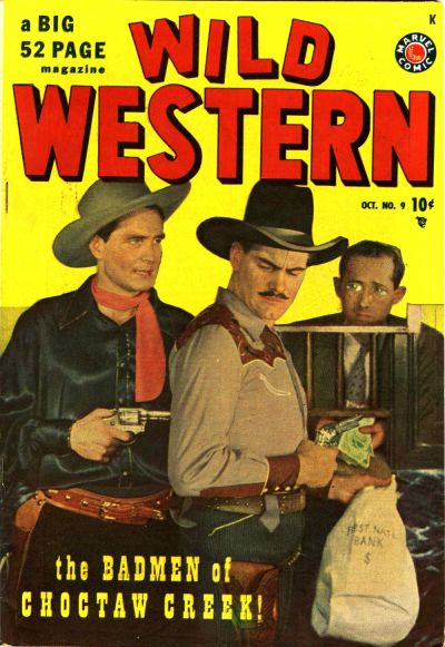 Cover for Wild Western (Marvel, 1948 series) #9
