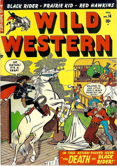 Cover for Wild Western (Marvel, 1948 series) #14