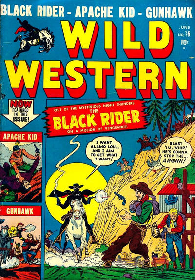 Cover for Wild Western (Marvel, 1948 series) #16