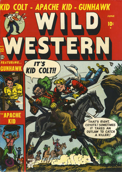 Cover for Wild Western (Marvel, 1948 series) #22