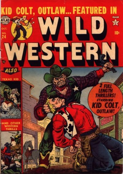 Cover for Wild Western (Marvel, 1948 series) #24