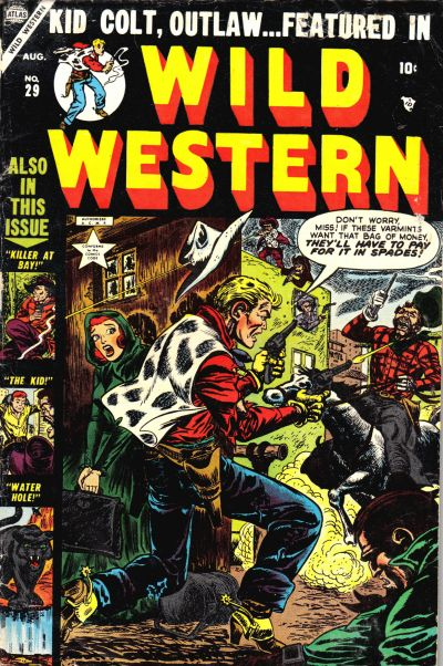 Cover for Wild Western (Marvel, 1948 series) #29