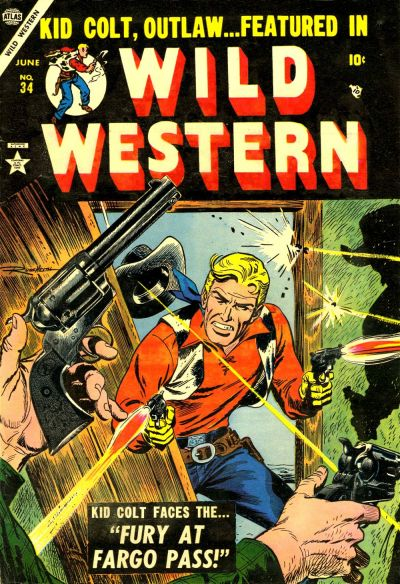 Cover for Wild Western (Marvel, 1948 series) #34