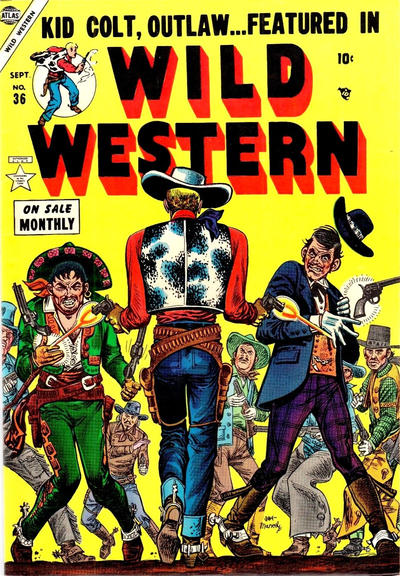 Cover for Wild Western (Marvel, 1948 series) #36