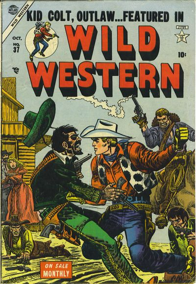 Cover for Wild Western (Marvel, 1948 series) #37