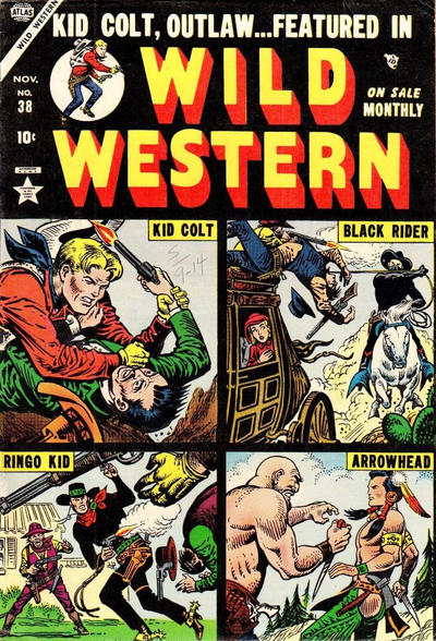 Cover for Wild Western (Marvel, 1948 series) #38