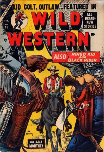 Cover for Wild Western (Marvel, 1948 series) #41