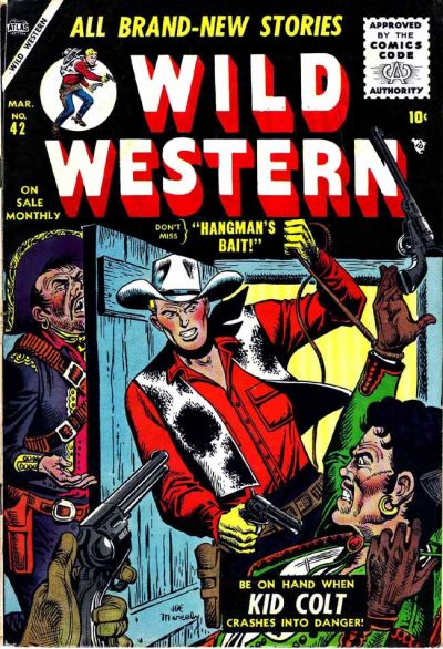 Cover for Wild Western (Marvel, 1948 series) #42