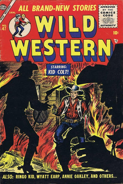 Cover for Wild Western (Marvel, 1948 series) #47