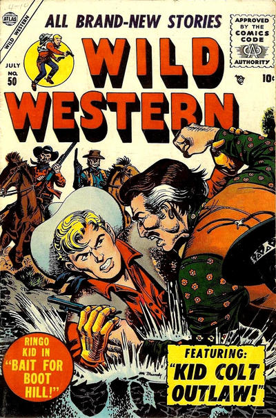 Cover for Wild Western (Marvel, 1948 series) #50