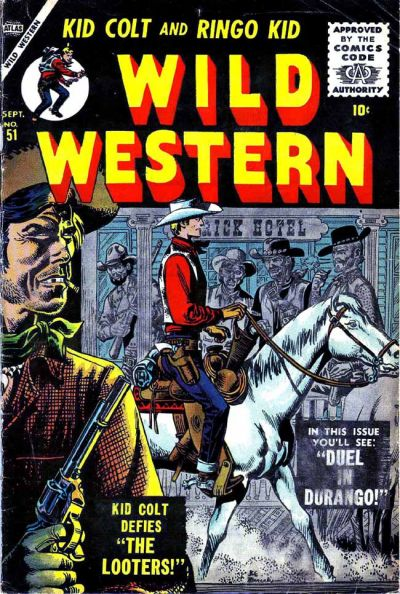 Cover for Wild Western (Marvel, 1948 series) #51