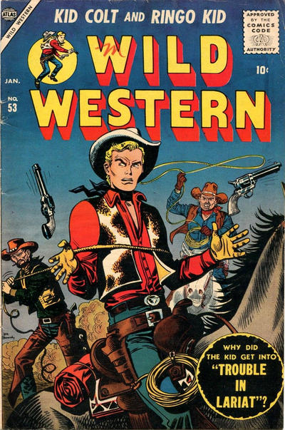 Cover for Wild Western (Marvel, 1948 series) #53