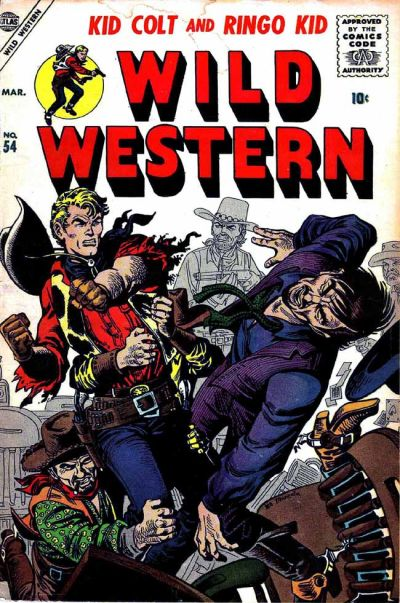Cover for Wild Western (Marvel, 1948 series) #54