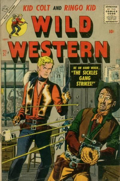 Cover for Wild Western (Marvel, 1948 series) #57